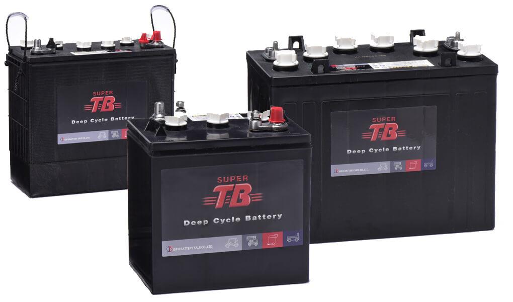 SUPER TBバッテリー